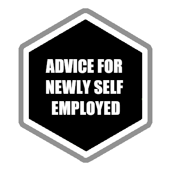 Advice for the newly self employed