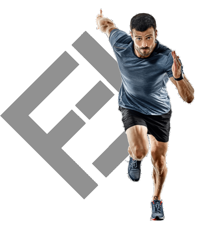 The Financial Fitness Group Logo with man running